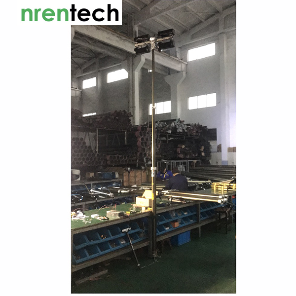 3.5m LED light mast