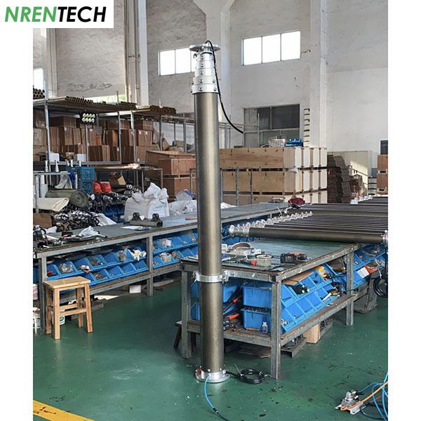9m CCTV Pneumatic Telescopic Mast NR-2200-9000-50C