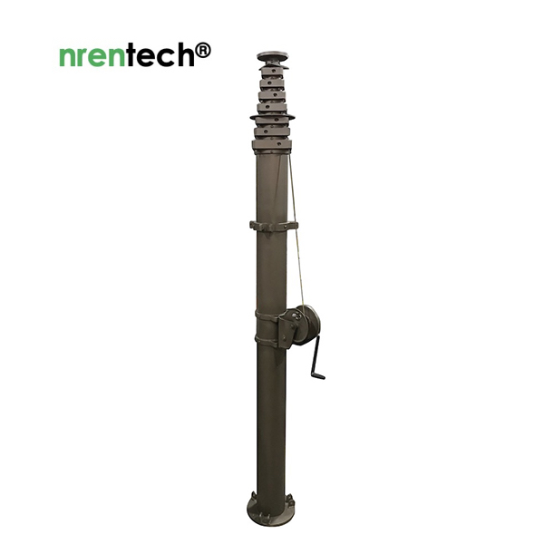 nrentech-Manual Telescopic Mast