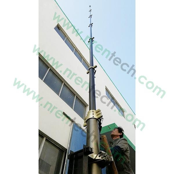 locking mast testing