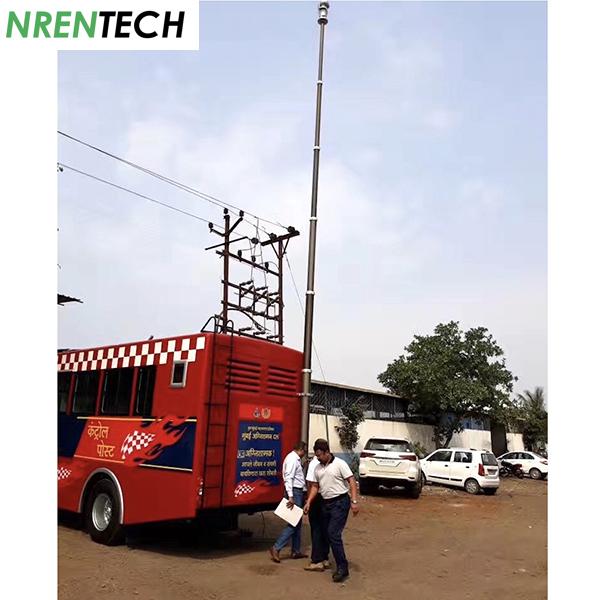india CCTV mast