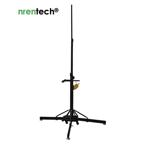 7m Quadpod Manual Mast Tower-Super Payloads NR-Q7S